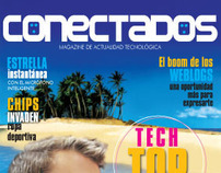 Conectados Magazine - Editorial Design