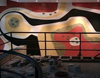 Cafe Restaurant wall painting