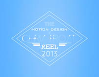 Chris Frost Motion Design Reel 2013