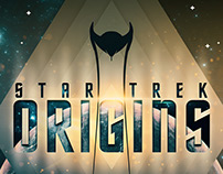 Star Trek 50th Anniversary - Origins Poster