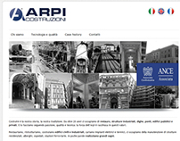 Website www.arpicostruzioni.it