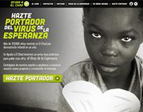AYUDA A EL CHAD - NGO Website