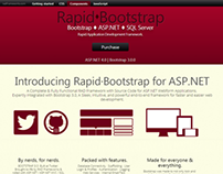 RAD Frameworks - Complete Bootstrap 3 Web Applications