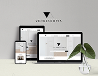 Venuescopia Web design