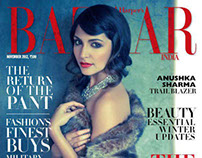 November 2012 Harpers Bazaar Cover Story