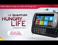 LG Quantum - Hungry for Life
