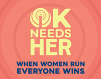 OK Needs Her - Empowering Women to Run