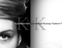 Model Comp Card: Kyla Klein