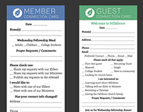 Redesign: Church Connection Cards