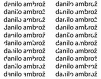 Danilo Ambrož - corporate identity