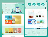 Grocery Shop website