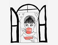 Trendyol App Dowland illustration