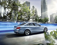 BMW 5series Active Hybrid 2013 Launch