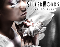 SILVERWORKS x Cassandra: Warrior Angel - Billboard Ad