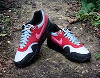 Nike Air Max 1 x Parra 'Running Man' Custom