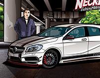 Mercedes Benz A45 AMG •The Neckbreaker•