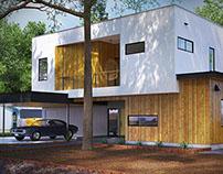 Realistic Exterior & Interior