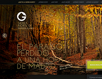 Web design for promote rural turism