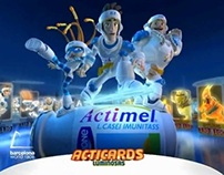 "Actimel ""Acticards Luminosas"""