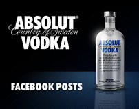 Absolut Vodka - Dutch Facebook page