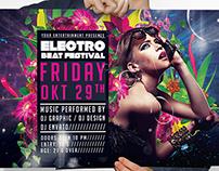 Electro Beat Festival Flyer