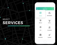 Services Selection - iOS