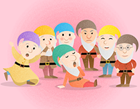 Seven Dwarfs from Snow White