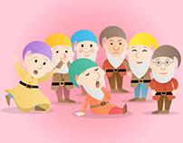 Seven Dwarfs from Snow White