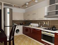 Kitchen HD (High-Poly)