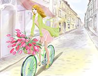 Illustrations for UkrSibbank