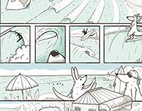 "Comic ""SURFOBIA"""