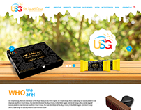 Honey web design