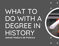What to do With a Degree in History