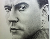 Dave Matthews - Pencil Drawing