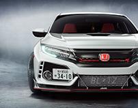 Honda Civic Type R CGI.