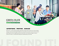 Green River | Advertising, Printing, Signage