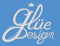 Glüe Design - logo - rebranding