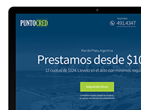 Landing Page - PuntoCred