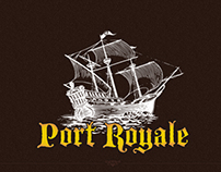Port Royale - Logo Design and Web design