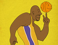 Shaquille O'neal illustration
