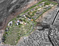 Landscape Design of Djibouti Delta Project - 2010