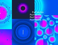 Space. Patterns design.
