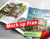 Magazine Brochure Mock up psd Free Download