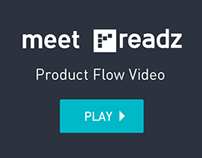 Meet Readz: Product Flow Video