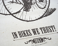 The Bikes Brothers brand identity