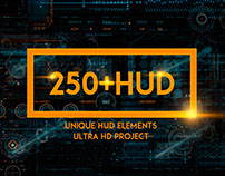 250 HUD SCI-FI (After Effects template)