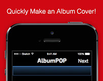 Album Pop Interface