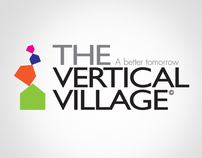 「TheVerticalVillage©」exhibition series design