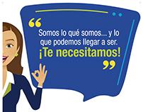 Afiches Confecámaras (Altamente Satisfecho)