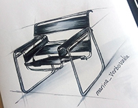 Sketching Набросок мебели